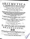 Aritmetica, e geometria prattica