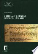 Artigiani a Genova nei secoli XII-XIII