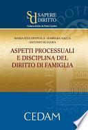 Aspetti processuali e disciplina del diritto della famiglia