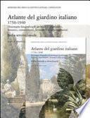 Atlante del giardino italiano