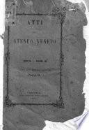 Atti dell'Ateneo Veneto