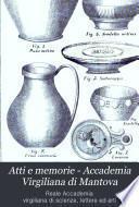 Atti e memorie - Accademia Virgiliana di Mantova