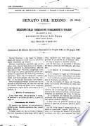 Atti parlamentari del Senato del Regno documenti