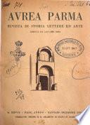 Aurea Parma rivista di storia, letteratura, arte