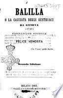 Balilla o la cacciata degli austriaci da Genova (1746) narrazione storica