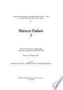 Barocco padano: Atti dell' XI Convegno internazionale sulla musica sacra nei secoli XVII-XVIII