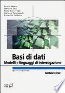 Basi di dati. Modelli e linguaggi di interrogazione