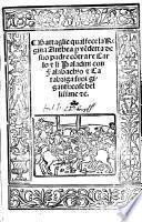 Battaglie qual fece la Regina Anthea