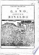Begin. Tradimento di Gano contra Rinaldo da Montalbano in verse