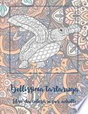 Bellissima tartaruga - Libro da colorare per adulti