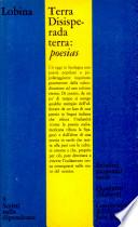 Benvenuto Lobina Terra Disisperada Terra: Poesias