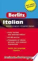 Berlitz Pocket Dictionary/Dizionario Tascabile