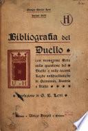 Bibliografia del duello