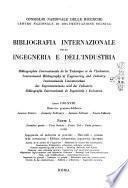 Bibliografia internazionale dell'ingegneria e dell'industria