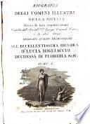 Biografia degli uomini illustri della Sicilia ornata de' loro rispettivi ritratti compilata dall'avvocato d.r. d.n. Giuseppe Emanuele Ortolani e da altri letterati ... Tomo 1. [-4.]