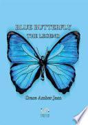 Blue butterfly. The legend