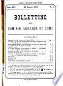 Bollettino del Comizio agrario di Como