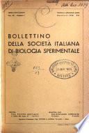 Bollettino della Società italiana di biologia sperimentale