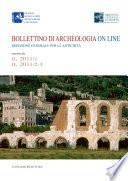 Bollettino di archeologia on line