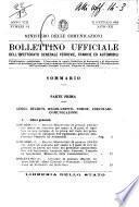 Bollettino ufficiale dell'Ispettorato generale ferrovie, tramvie ed automobili