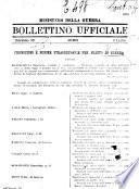 Bollettino ufficiale delle nomine, promozioni e destinazioni negli uffiziali dell'esercito italiano e nel personale dell'amministrazione militare
