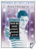 Boom dei social network: facebook e i giovani