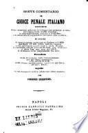Breve comentario al codice penale italiano