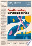 Brexit con deal, istruzioni per l'uso