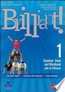 Brilliant! Ediz. pack. Student's book-Workbook-Culture book. Con espansione online. Per la Scuola media. Con DVD-ROM