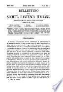 Bullettino della Società dantesca italiana