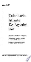 Calendario Atlante de Agostini