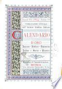 Calendario d'oro annuario nobiliare diplomatico araldico