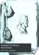 Catalogo del Museo Kircheriano