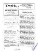 Cerevisia Rassegna periodica della produzione e del commercio della birra, del malto, del luppolo, del freddo, delle acque gassate e dei prodotti della macinazione