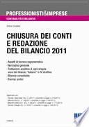 chiusura dei conti e redazione del bilancio 2011