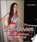 Cinzia Olivieri. Pittrice e modella tutta a colori