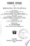 Codice civile del regno d'Italia cogli argomenti e colla correlazione degli articoli fra loro e con le disposizioni dei codici di procedura civile, di commercio e penale e delle leggi, dei regii decreti e regolamenti che vi hanno rapporto: sono aggiunti gli articoli o paragrafi di confronto dei quattro principali codici civili gia in vigore in Italia l'Albertino, l'Austriaco, il Napoletano ed il Francese con alcune note: è pure unita la legge transitoria 30 novembre 1865