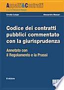 Codice dei contratti pubblici commentato con la giurisprudenza