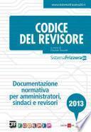 Codice del revisore 2013