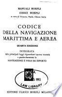 Codice della navigazione marittima e aerea