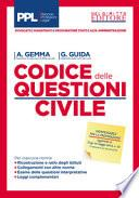 Codice delle questioni. Diritto civile. Dottrina e giurisprudenza