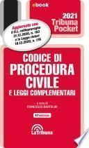Codice di procedura civile e leggi complementari