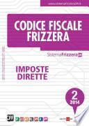 Codice Fiscale Frizzera Imposte Dirette 2/2014