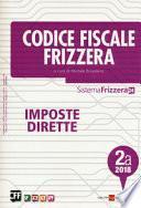 Codice fiscale Frizzera. Imposte dirette 2018
