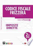Codice Fiscale Frizzera Imposte Dirette 2A/2016