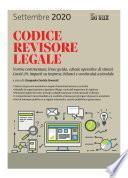CODICE REVISORE LEGALE 2020