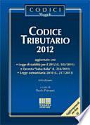 Codice tributario 2012