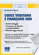 Codice tributario e finanziario
