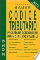 Codice tributario. Procedure concorsuali principi contabili
