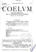 Coelum